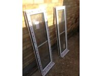 Pair of upvc windows