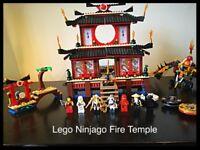 Lego Ninjago Fire Temple