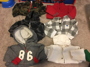 HUGE LOT FALL WINTER BOYS CLOTHES 6-12M