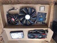 I7 Processor, Video Card, Ram, PSU Case, Hard Drive