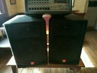 Speakers JBL, JRX 100