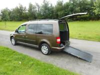 2012 Volkswagen Caddy Maxi Life 1.6 Tdi AUTOMATIC Wheelchair Disabled Accessible