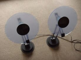 Two original Phillips adjustable & dimmable lamps