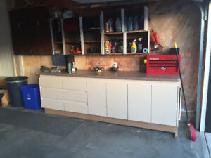 Custom built workbench