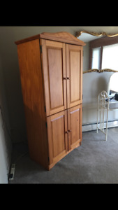 Solid Wood Armoire