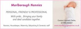 EXPERIENCED FULL TIME SOLE CHARGE NANNY REQUIRED IN TURKDEAN, GLOS