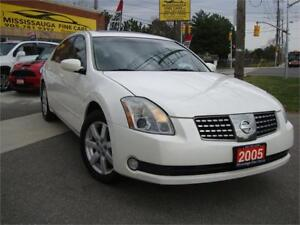 2005 NISSAN MAXIMA SL,LEATHER,SUNROOF,ALLOYS