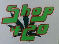 P/T & Occasional Help Wanted at busy head shop franchise