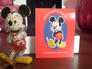"Swarovski Disney Arribas "" Mickey Mouse "" Limited Edition"