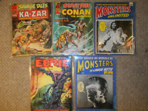 Lot of Vintage and Rare Comic Books and Magazines