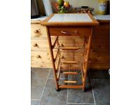 Kitchen trolley - sold subject to collection