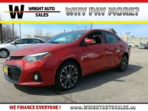 2014 Toyota Corolla S  LEATHER  SUNROOF  BACKUP CAM  44,880KMS