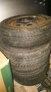 MOTOMASTER 13 INCH TIRES FOR SALE! P175/70/13!