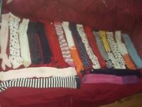 20 pairs of girls tights infant size 4-5 years