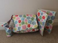 Cath Kidston Changing Bag, Mat and Bottle Warmer