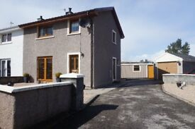 3 bedroom semi-detached house, For Sale, 14 clash breac lairg, excellent condition £107.000.