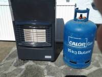 Surpersur heater and gas bottle