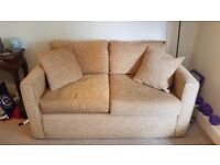 Double sofa bed, excellent condition.