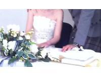 Unique wedding dress size 6,8,10