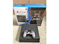 PlayStation 4 Black 1TB Console or PS4 Games/Accessories