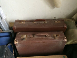 Old suitcases $5 each OBO