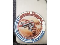 Lynyrd skynyrd picture disc record titled freebird ,, MCA lable