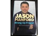 Jason Manford - Brung Up Proper -hardback - New