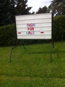 Portable Sign
