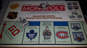 Older version NHL Monopoly complete