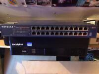 Netgear 24 10/100Mbps x2
