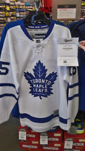 Autographed James van Riemsdyk Jersey with C.O.A.