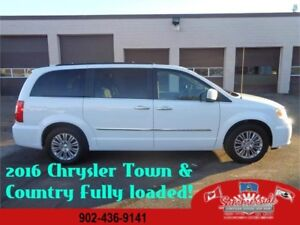2016 Chrysler Town & Country Touring Leather Dual DVD !
