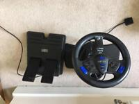 Ps2 steering wheel and pedal