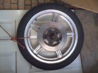 honda motorbike wheels