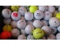 Golf balls of over 100 pieces