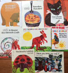 ERIC CARLE picture books $4 each or all 8 for $25