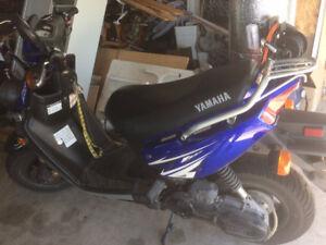 Scooter YAMAHA BWS 2009 seulement 7167 km