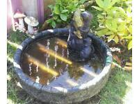 Concrete Garden Fountain/pond