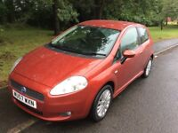 2007 Fiat Punto 1.4 Dynamic-2 owners-12 months not-6speed-ideal first car-exceptional