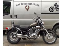 EXCEPTIONAL CONDITION 2001 YAMAHA XV535 DX VIRAGO VERY LOW MILEAGE 3 OWNERS