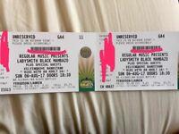 2 x concert tickets