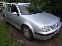 Volkswagen Golf Estate Tdi SE - spares or repair