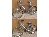 Men's and Ladies 18 gear matching bicycles
