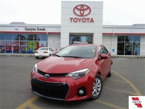 2014 Toyota Corolla S CVT ONE OWNER CLEAN CARPROOF