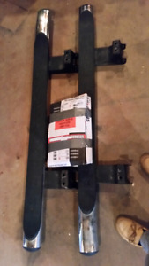 Step siderails for CRV