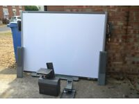 Smart Board interactive whiteboard and projector