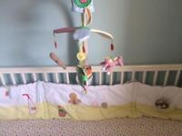 Mamas and Papas Gingerbread Bumper and Mobile