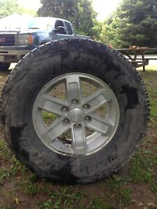 285/70/70 Coopers on GMC rims