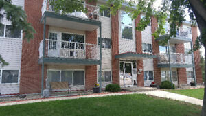 Freshly painted & updated, bright, top floor,  2 bedroom condo