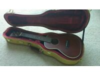 Ukulele from Westfield with tweed hard case mint condition